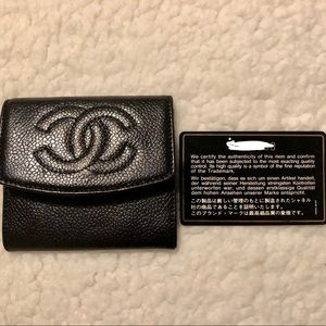 Authentic Vintage Chanel Card holder